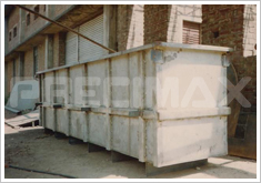 Rectangular Industrial Tanks